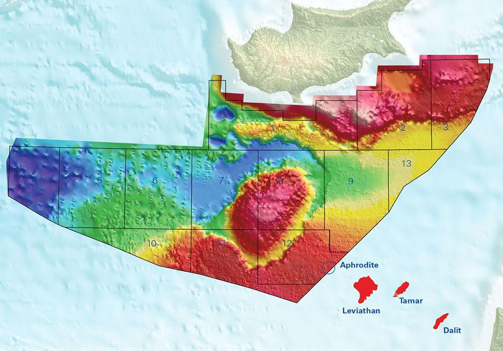 מפת הרישיונות בקפריסין, מאתר PGS