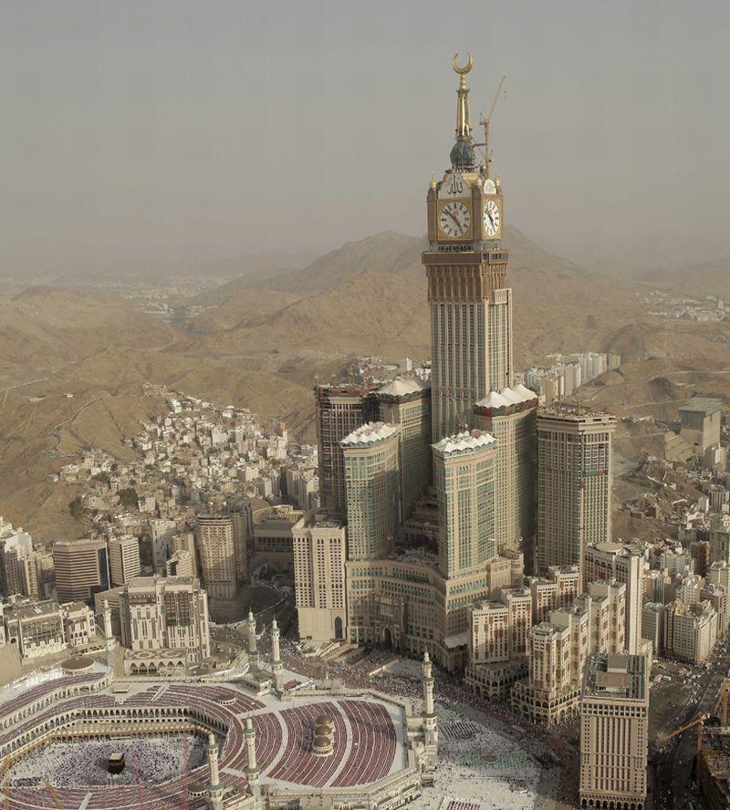 המגדל השני בגובהו בעולם; קרדיט: Saudi Bin Laden Group / CTBUH