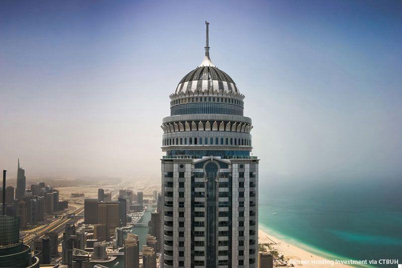 מגדל המגורים הגבוה בעולם; קרדיט: Tameer Holding Investment/ CTBUH