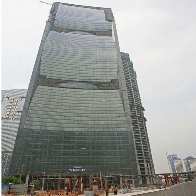 מגדל Pearl River בגואנגזו, סין; קרדיט: SOM Crystal CG / CTBUH