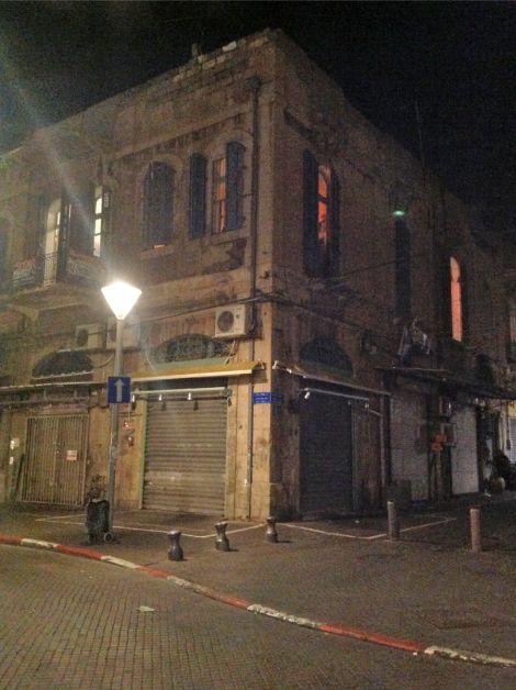 הבניין בו צולמו קטעים מ'הומלנד'