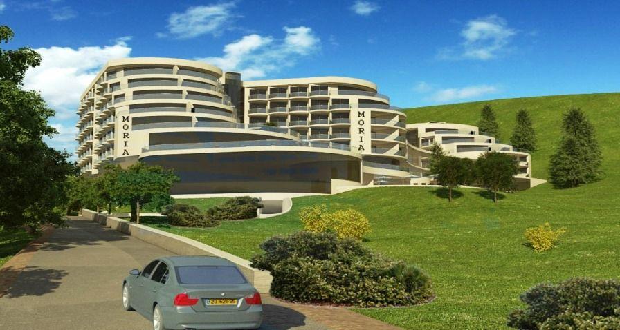 מלון גני מאיר טבריה; קרדיט: א.ב. מתכננים