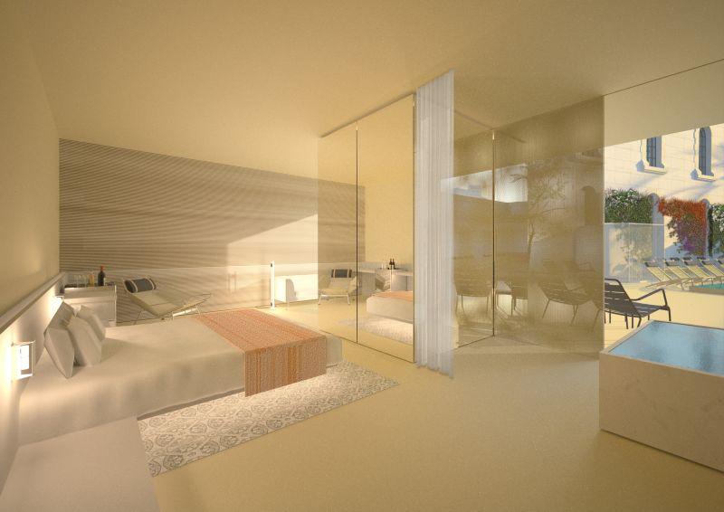 חדר מלון טיפוסי