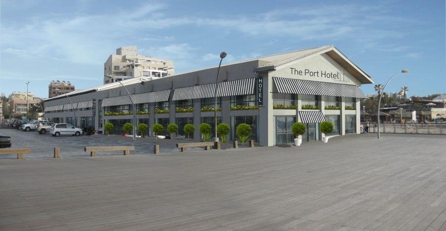 הדמיית המלון; קרדיט: ארכיון הנמל