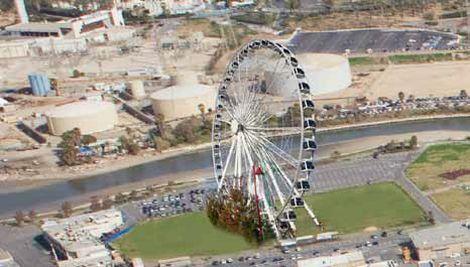 הדמיית גלגל ענק; קרדיט: ארכיון הנמל