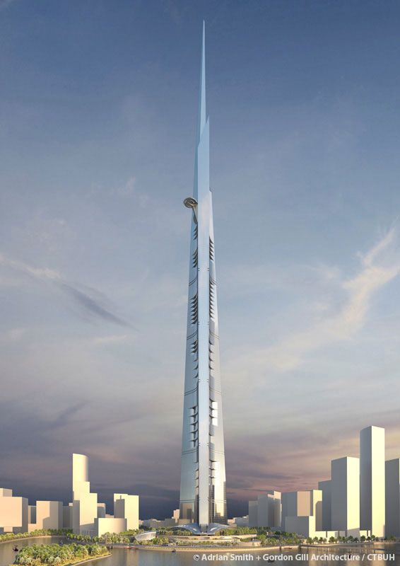 ה-Kingdom Tower; קרדיט:Adrian Smith + Gordon Gill Architecture / CTBUH