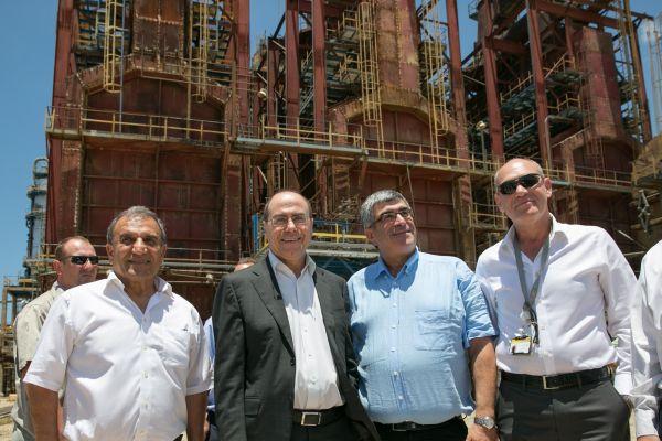 חנוכת תחנת כוח פרטית חדשה באשדוד; קרדיט: ערן לם