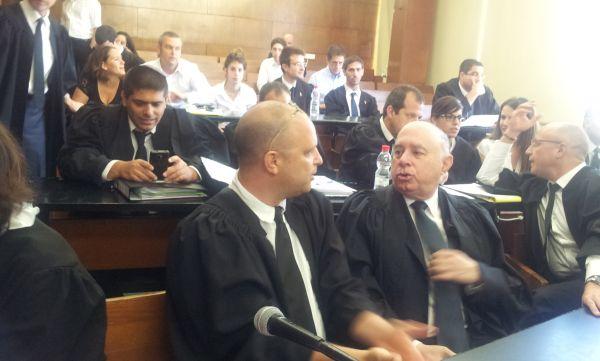 הדיון בבית המשפט; צילום: אבי שאולי
