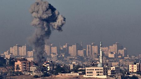 מבצע עמוד ענן (צילום: Getty images Israel)