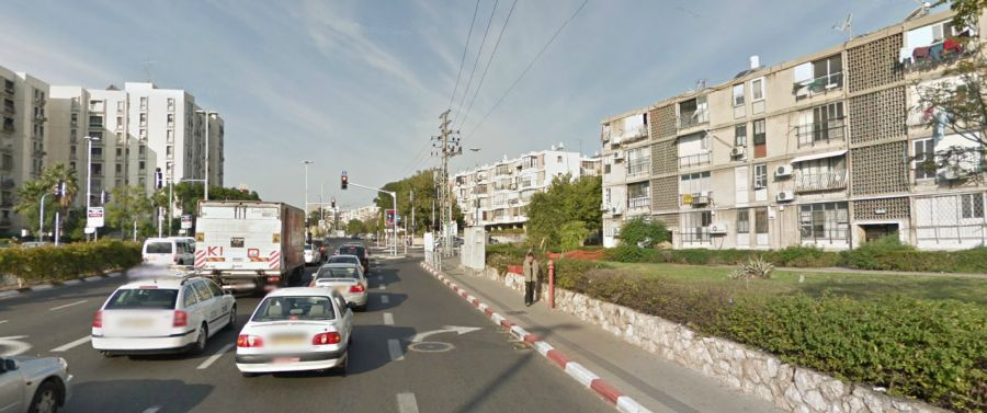רחוב יוספטל בבת-ים; קרדיט: Google Maps