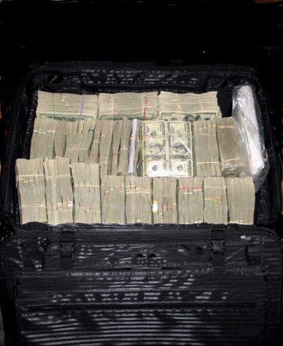 """הכסף שנמצא במרתף; קרדיט: יח""""צ"""