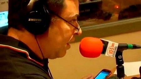 בן כספית ברדיו ללא הפסקה (צילום: אייס TV)