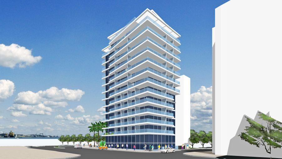 """הדמיית הבניין; קרדיט: יח""""צ"""