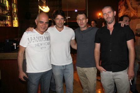מימין: טל פרלמוטר, גיא בר, אמיר גיא ויגאל בראון