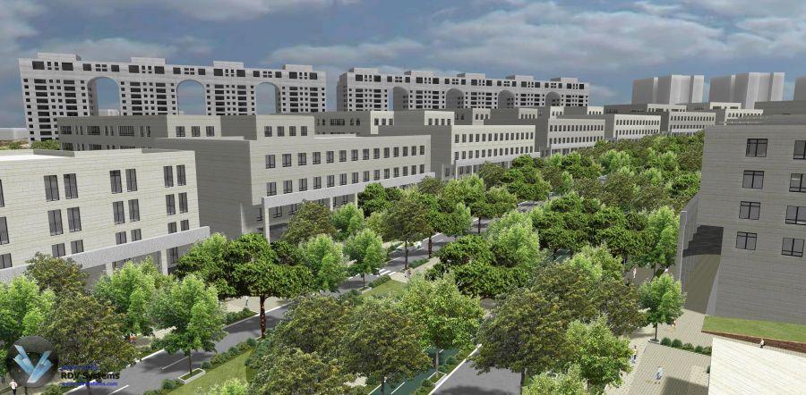 """מבט אל הבניינים; קרדיט: יח""""צ"""