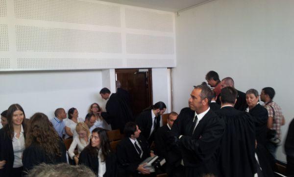 """הדיון בבית המשפט המחוזי בת""""א, קרדיט: אבי שאולי"""