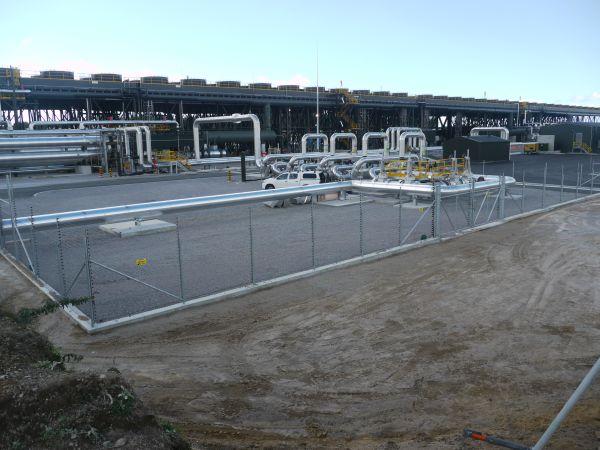 תחנת הכוח הגיאותרמית בנטאמריקי הממוקמת ליד העיר טאופו בצפון ניו-זילנד