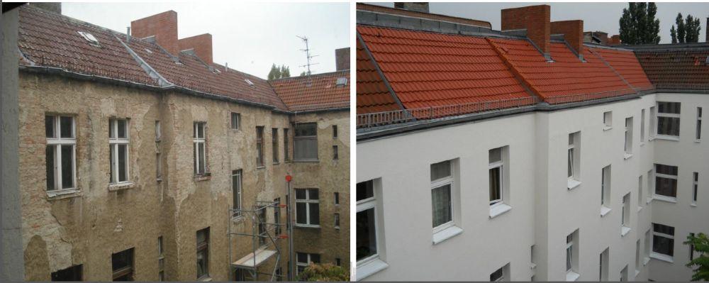 בניין של ADO לפני ואחרי השיפוץ; קרדיט: ADO