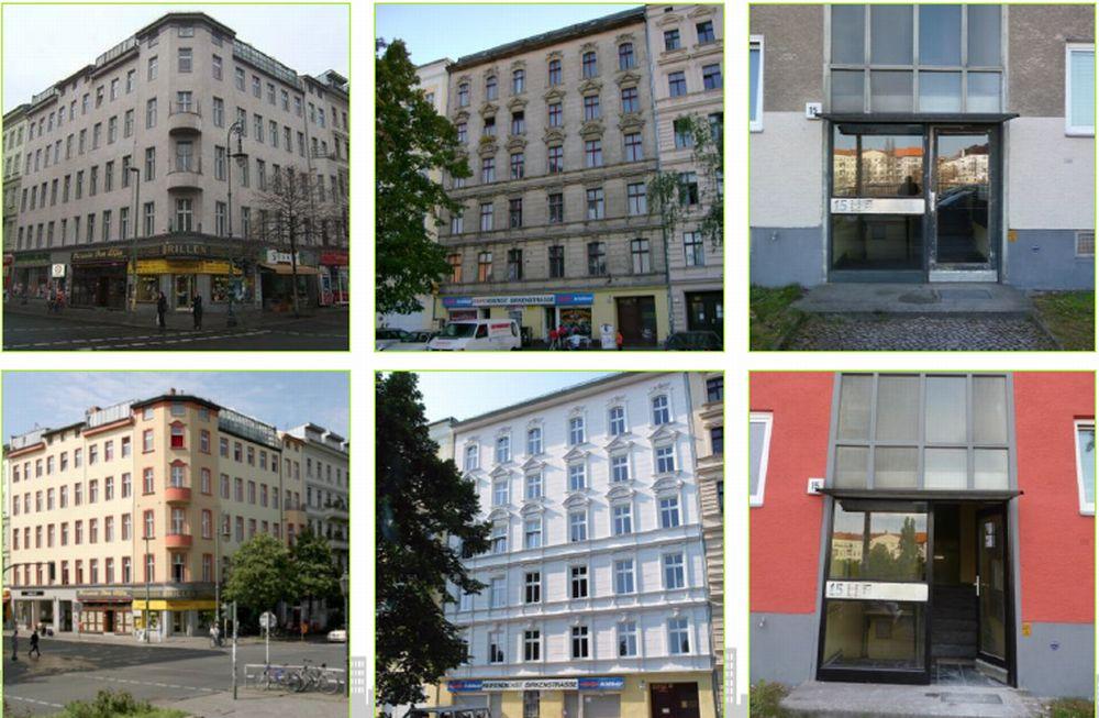 בניינים של ADO לפני ואחרי שיפוצם; קרדיט: ADO