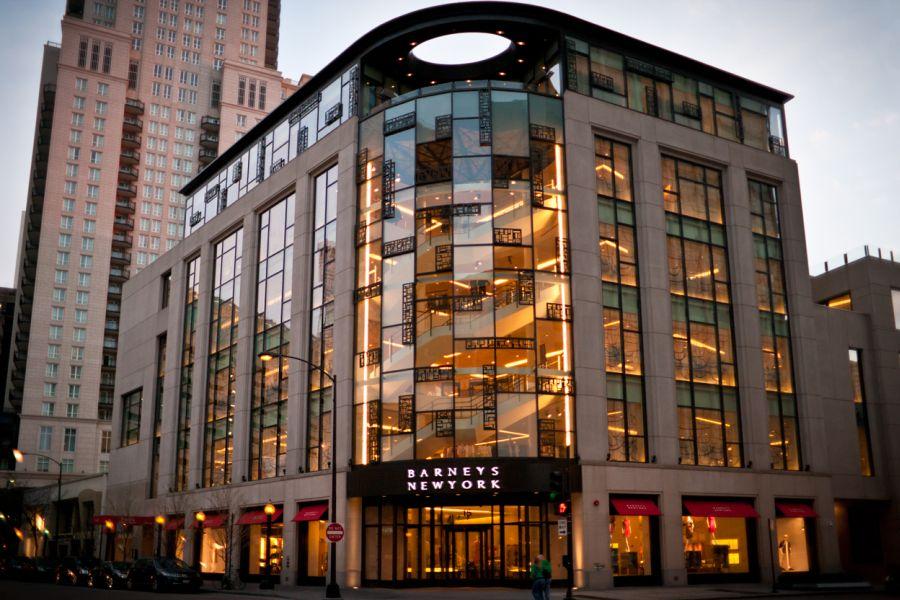 """בניין ברני'ס בשיקגו; קרדיט: יח""""צ"""