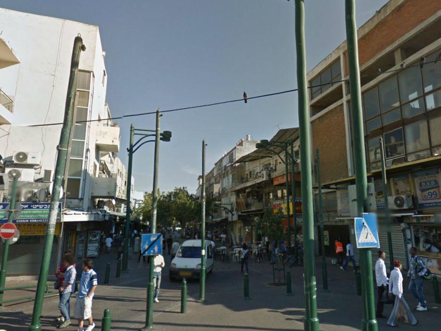 מדרחוב נווה שאנן; קרדיט: Google Maps