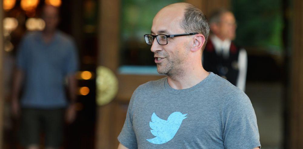"""סיבות טובות לחייך. מנכ""""ל טוויטר, דיק קוסטולו. דרקיט: getty image"""