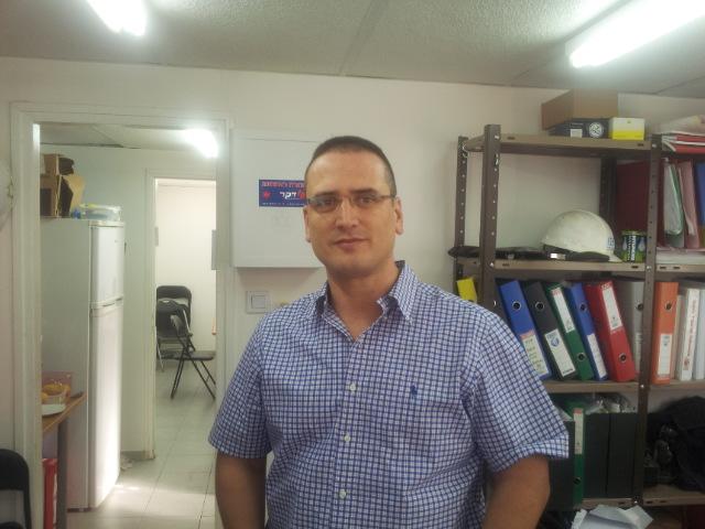 צבי דרין; צילום - אבי שאולי