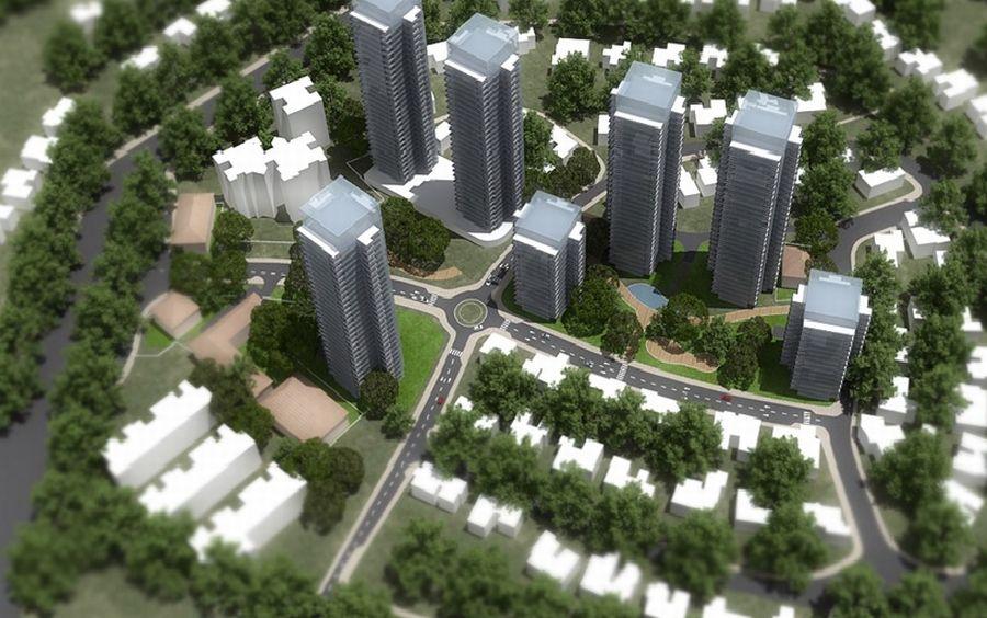 הדמיית הפרויקט; קרדיט: עיריית רמת השרון