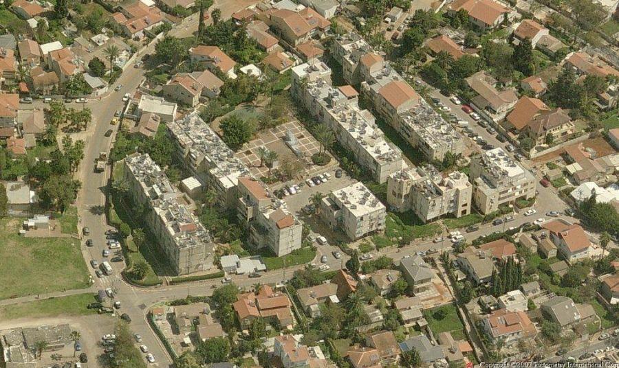 האזור כיום; קרדיט: עיריית רמת השרון