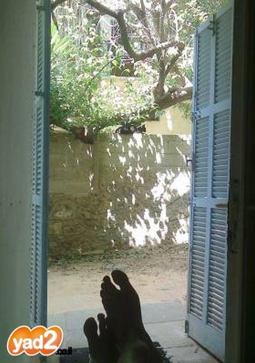 """10 מ""""ר עם חצר בלב תל אביב; קרדיט: יד2"""