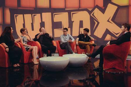 יגאל שילון וחבריו באמבוש (צילום: גיא כץ)