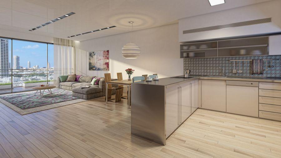 """דירת 2 חדרים; - ה""""זולה"""" ביותר; קרדיט: יח""""צ"""