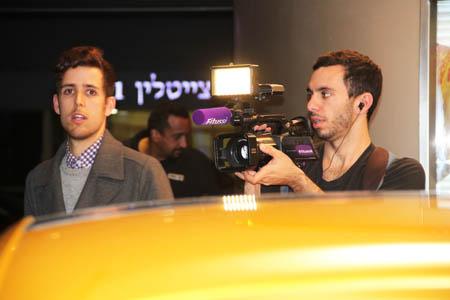 צוות חדשות הבידור של HOT (צילום: סיגל נפתלי קסל)