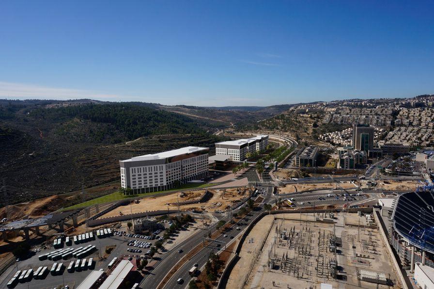 הדמיית מתחם ירושלים; אדריכל אמנון שוורץ-מילוסלבסקי אדריכלים