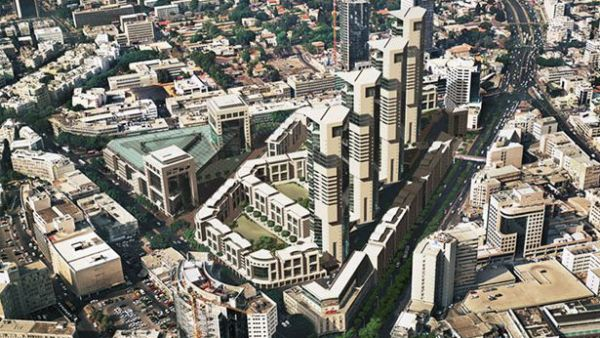 הדמיה של פרויקט השוק הסיטונאי בתל אביב