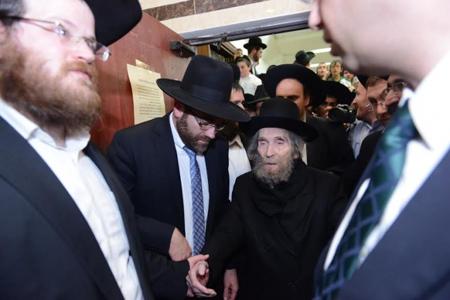 אסר על פרסום ב'הפלס'. הרב שטיינמן (צילום: משה בן נאים - סוכנות הידיעות 'חדשות 24')
