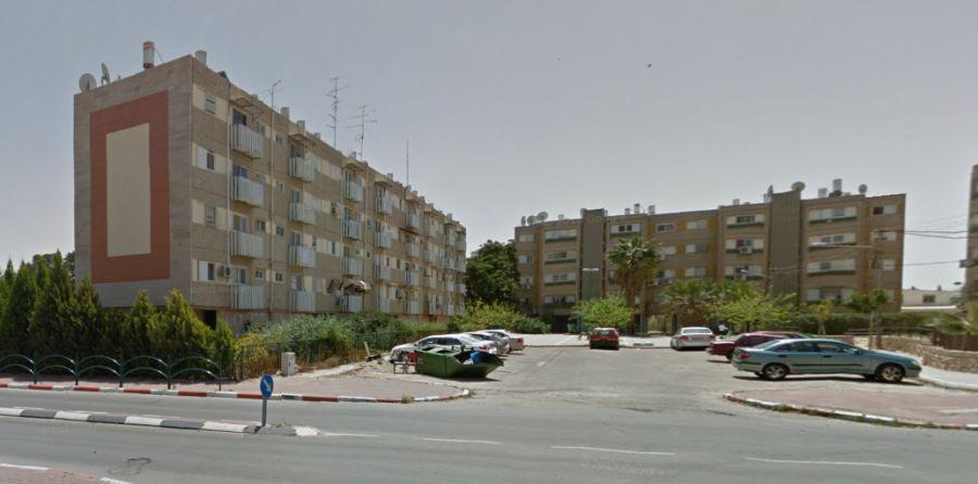 רחוב חורי באופקים; קרדיט: Google Maps