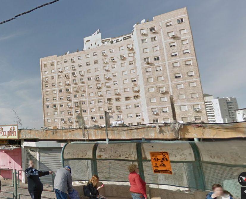 """רחוב אברהם אבינו בב""""ש; קרדיט: Google Maps"""