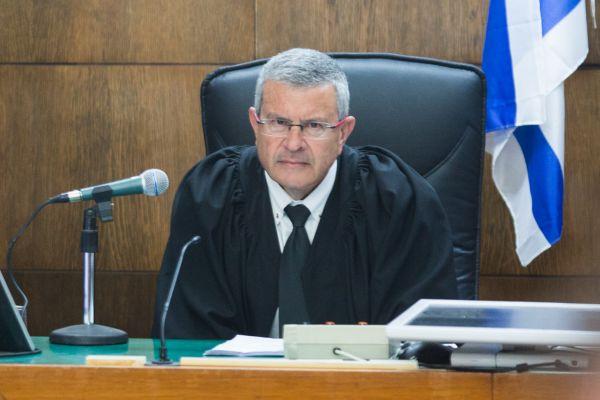 השופט דוד רוזן, צילום - יותם רונן מערכת וואלה