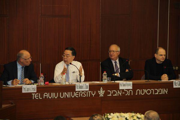 סימפוזיון כלכלה באוניברסיטת תל-אביב