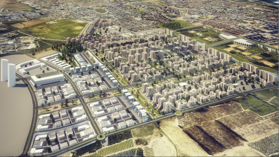 הדמיית האזור: קרדיט: ארמון אדריכלים ומתכנני ערים
