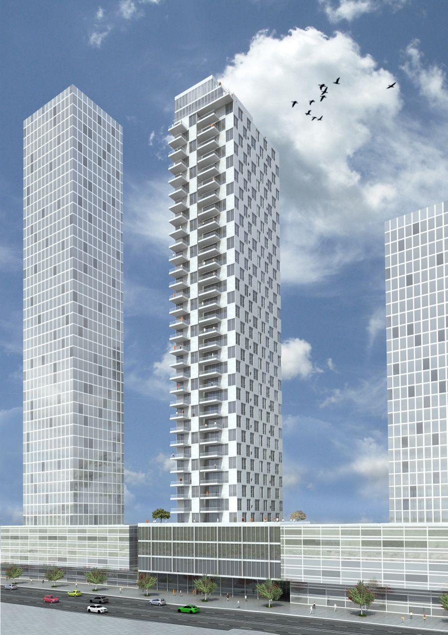 הדמיית הפרויקט: קרדיט: גוטמן אסיף אדריכלים ויסקי אדריכלים
