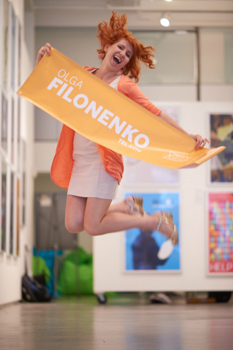 אולגה פילוננקו. נציגת תל אביב בניו יורק (צילום: Mikedote.com )