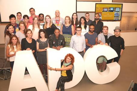 פורטפוליו נייט ניו יורק. משתתפים מכל העולם (צילום: Mikedote.com )