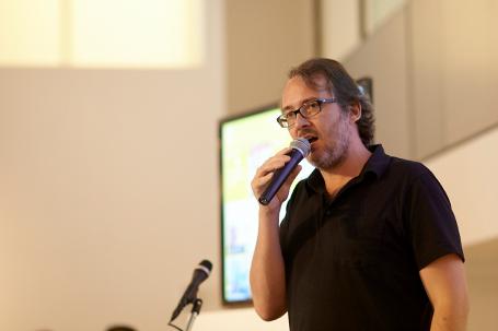 פרדריק בון. מנהל הקריאייטיב הראשי של JWT ניו יורק (צילום: Mikedote.com )
