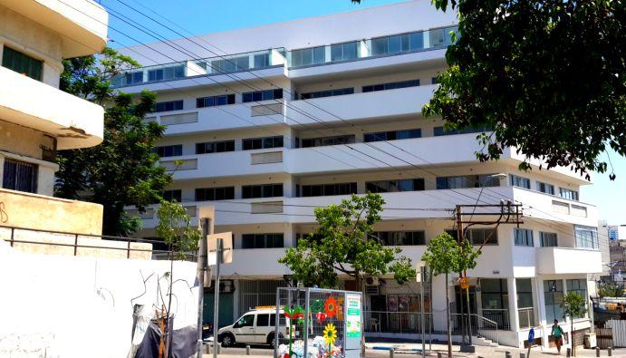 """הבניין; קרדיט: עיריית ת""""א"""