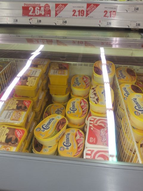"""גלידה """"לה קרמרייה"""" ב-2.19 אירו"""
