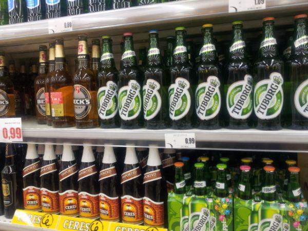 בקבוק חצי ליטר של טובורג ב-0.99 אירו