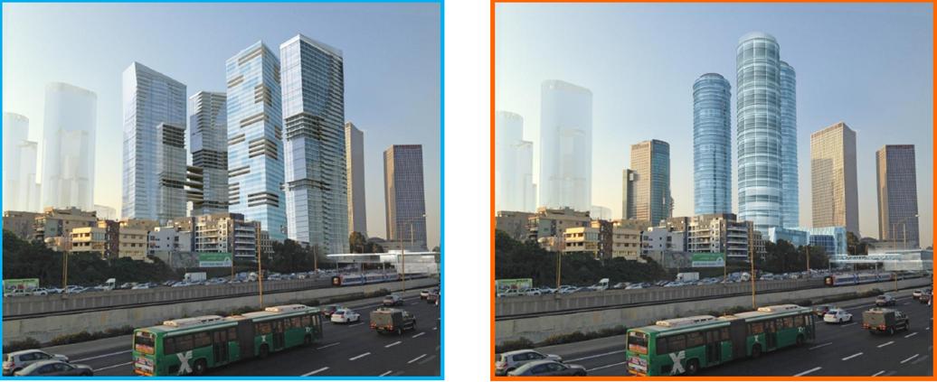 קרדיט הדמיות: עוזי גורדון אדריכלים ומתכנני ערים
