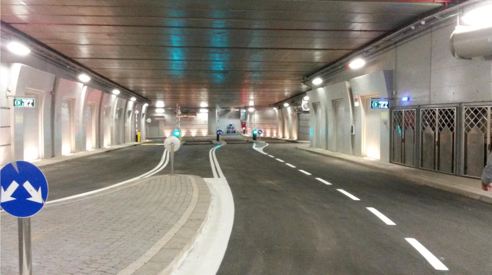 תמונה של המנהרה, קרדיט: רשות מקרקעי ישראל